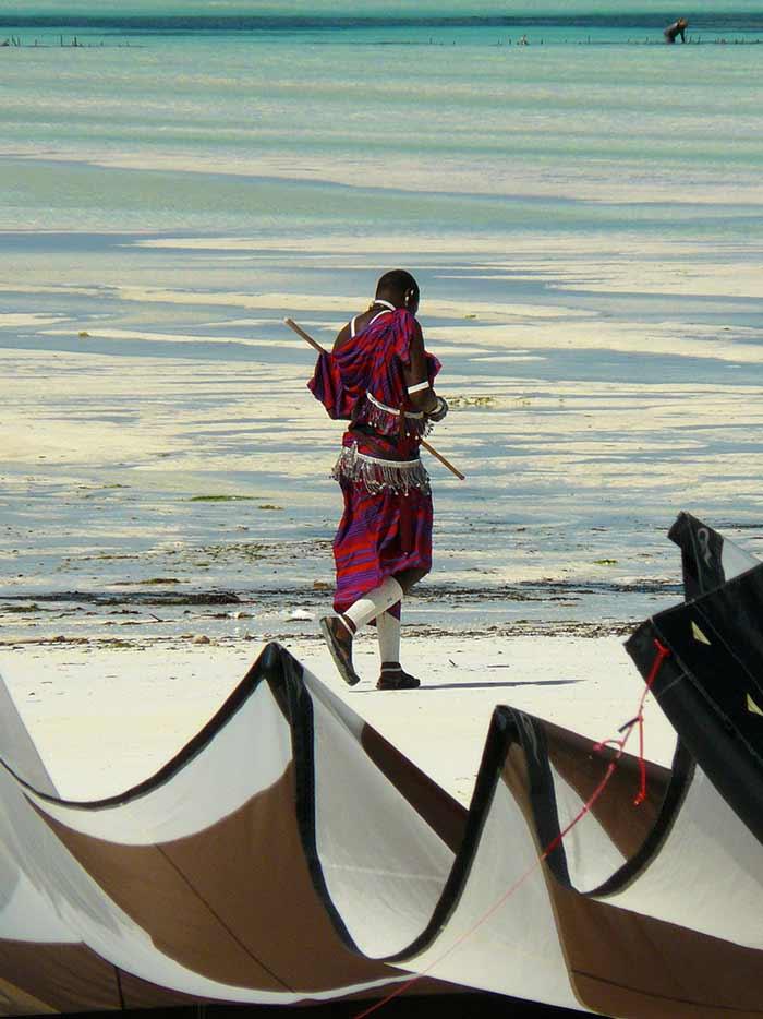 Kite - Kitesurfen auf Sansibar
