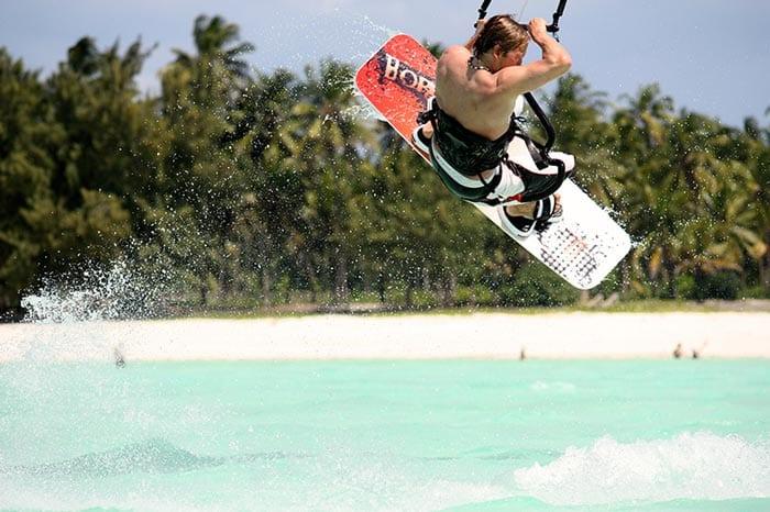Maik - Kitesurfen auf Sansibar