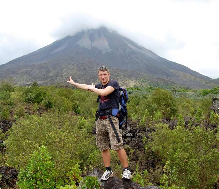 Vulkan Arenal - Kitereisen Kitesurfen Costa Rica