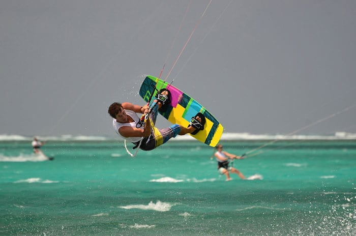 Bel Ombre - Kitesurfen Mauritius