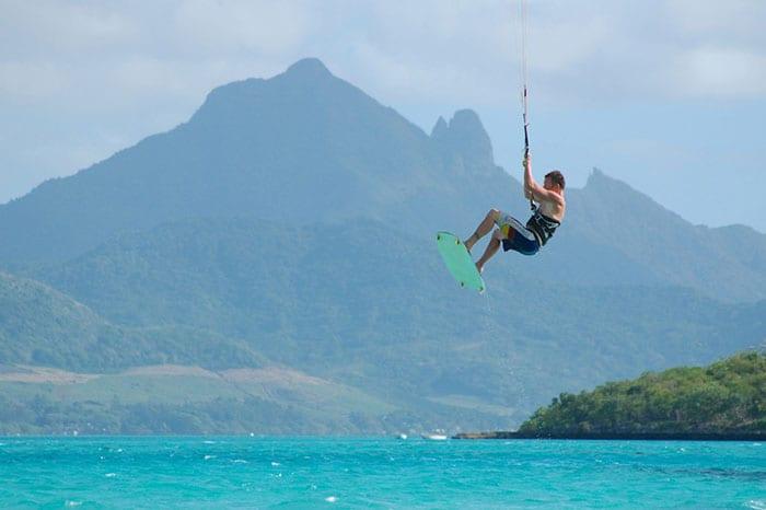 Mont Brabant - Kitesurfen Mauritius