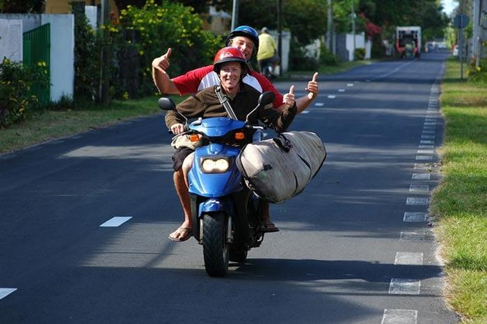 Moped Tour - Kitereisen Mauritius
