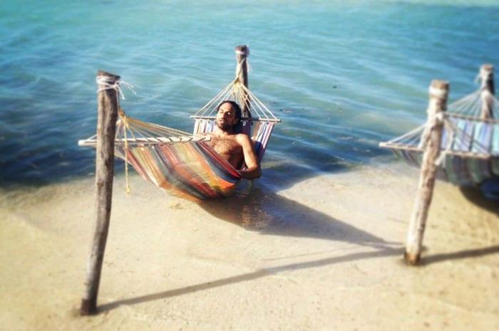 Hängematte - Kitesurfen Jamaika