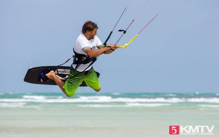 Loaded Jump beim Kiten
