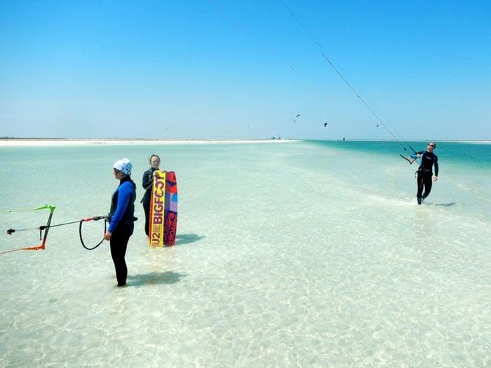 Kitereisen Djerba - Kitesurfen lernen in Tunesien