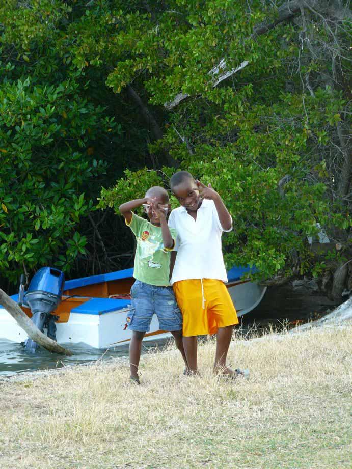 Kitereisen Union Island - Kitesurfen mit Jeremie Tronet - Children