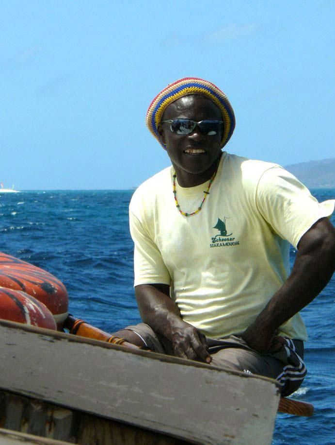 Kitereisen Union Island - Kitesurfen mit Jeremie Tronet - Fischer