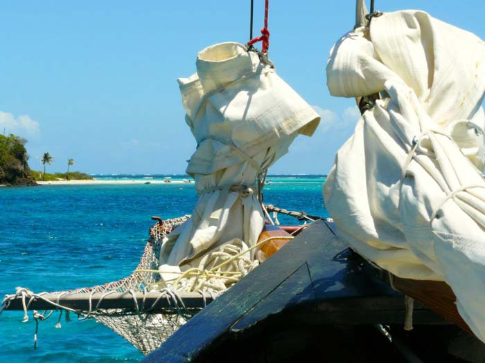 KMTV Kitereisen: Union Island - Kitesurfen mit Jeremie Tronet - Segeltrip