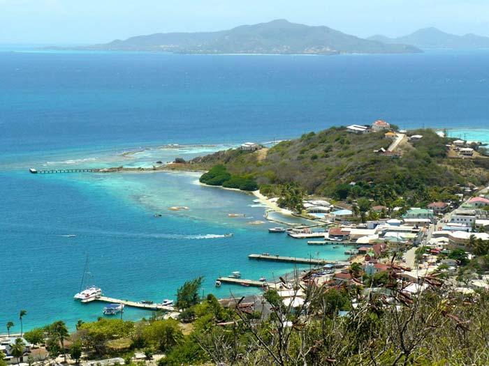 Kitereisen Union Island - Kitesurfen mit Jeremie Tronet - Hafen