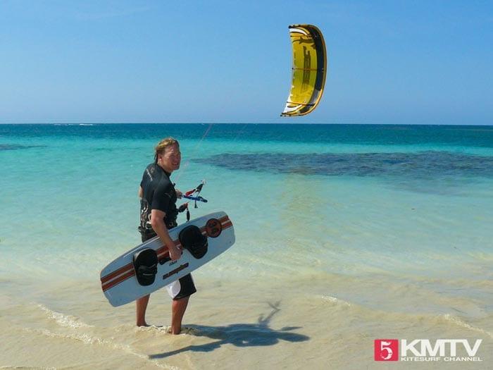 Kitereisen Dominikanische Republik: Kitesurfen in Las Terrenas