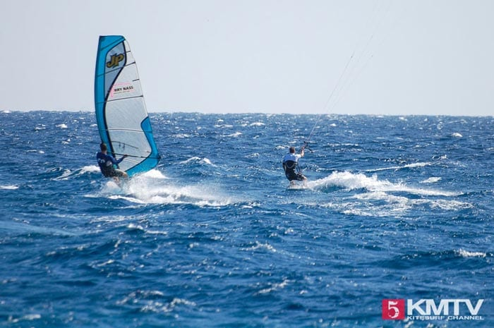 Kiten und Windsurfen: Kitesurfen am Harry Nass Center