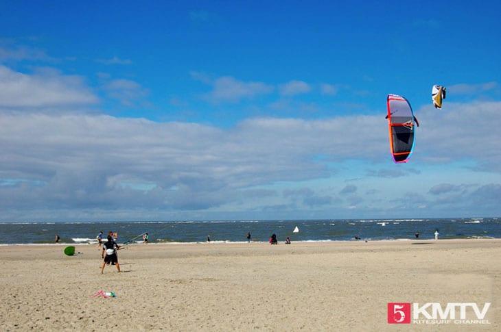 Kitereisen Baltrum - Kitesurfen an der Nordsee