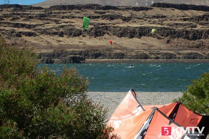 Kitereisen Hood River - Kitesurfen am Columbia River Gorge