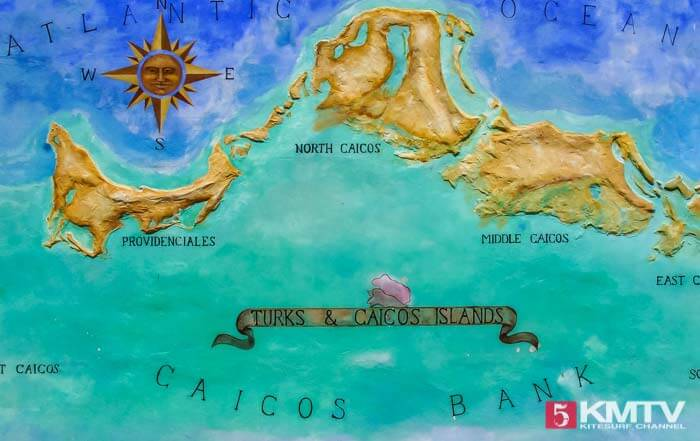 Kitereisen Providenciales - Beliebte Reiseziele zum Kitesurfen