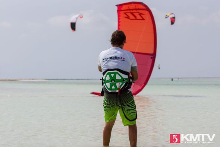 Relaunch von Tubekites beim Kiten