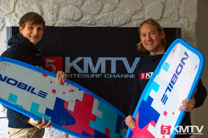 KMTV Team und Nobile Kiteboarding