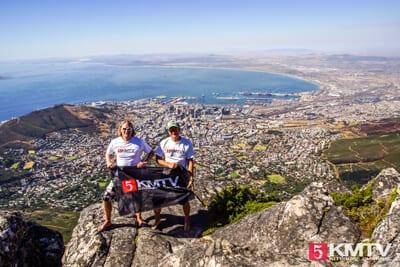 KMTV Team auf dem Tafelberg in Südafrika
