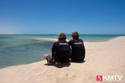 KMTV Team an der Weißen Düne in Marokko