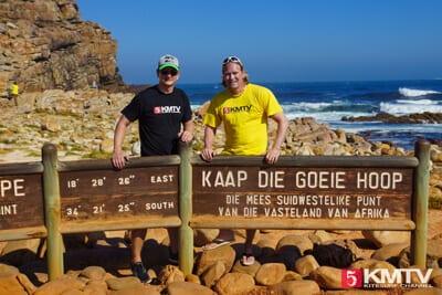 KMTV Team am Kap der Guten Hoffnung in Südafrika