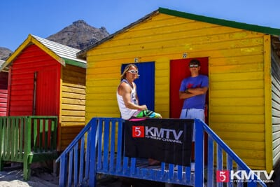 KMTV Team in Muizenberg Südafrika