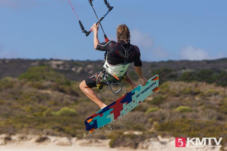 Gute Voraussetzungen zum Kitesurfen lernen