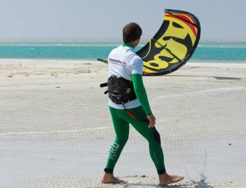 Kite ohne Helfer selber starten – Tipps und Video zum Erlernen