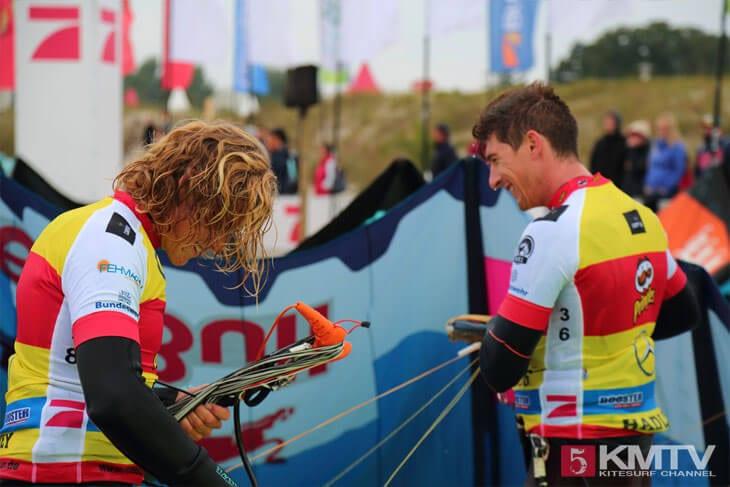 Liam Whaley & Aaron Hadlow - Pringles Kitesurf World Cup 2016