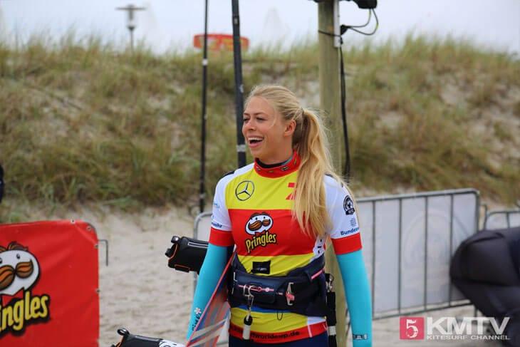 Hannah Whiteley - Pringles Kitesurf World Cup 2016
