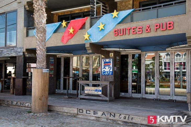 Ocean Cafe Santa Maria - Kitereisen und Kitesurfen Sal Kapverden