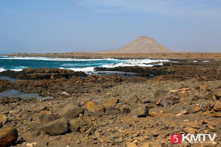 karge Landschaft - Kitereisen und Kitesurfen Sal Kapverden