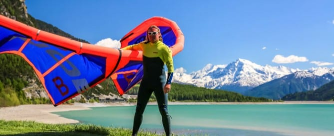 Reschensee Kitesurfen – Kitereisen an den Homespot von Element Sports
