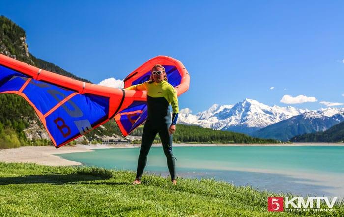 Reschensee Kitesurfen – Kitereisen an den Homespot von Element Sports