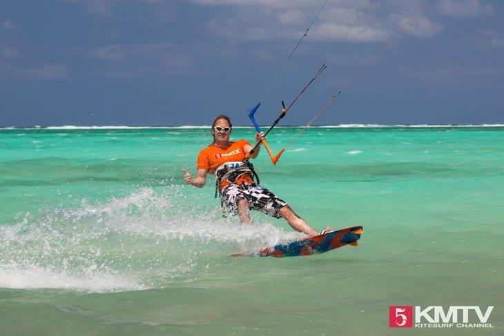 Gun Bay Dock Kitespot - Cayman Islands Kitesurfen und Kitereisen