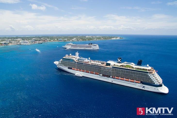 Kreuzfahrten - Cayman Islands Kitesurfen und Kitereisen