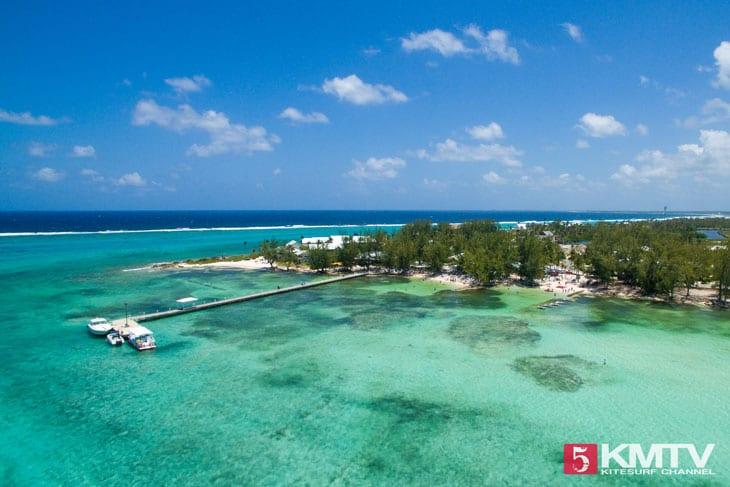 Rumpoint - Cayman Islands Kitesurfen und Kitereisen