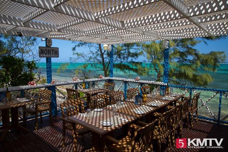 Tukka Restaurant - Cayman Islands Kitesurfen und Kitereisen
