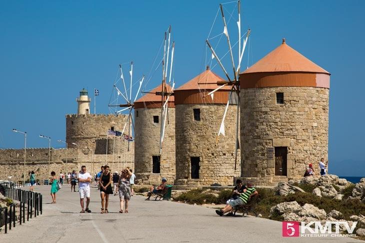 Rhodos Stadt - Rhodos Kitereisen und Kitesurfen