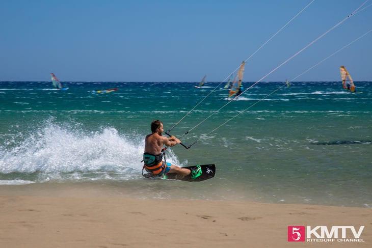 Kitespot Prasonisi - Rhodos Kitereisen und Kitesurfen