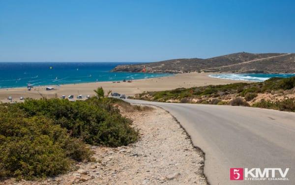 Rhodos Kitesurfen - Kitereisen nach Griechenland in die südliche Ägäis