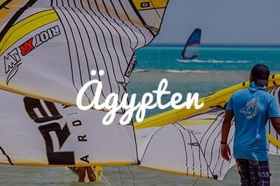 Ägypten Kitespot Area - Kitesurfen und Kitereisen