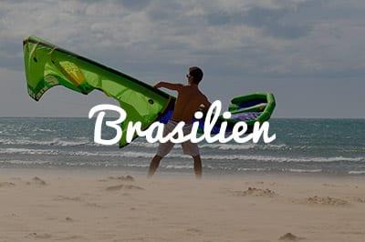 Brasilien Kitespot Area - Kitesurfen und Kitereisen