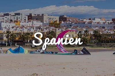 Spanien Kitespot Area - Kitesurfen und Kitereisen