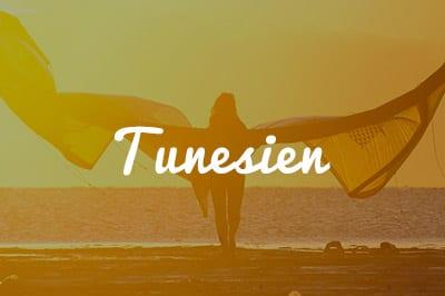 Tunesien Kitespot Area - Kitesurfen und Kitereisen