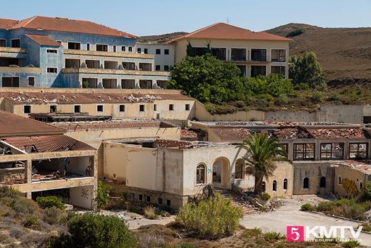 Ghost Town - Limnos Griechenland Kitereisen und Kitesurfen