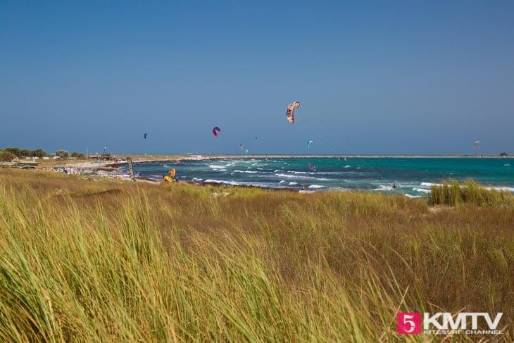 Keros Kitespot - Limnos Griechenland Kitereisen und Kitesurfen