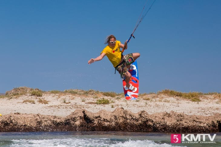 Keros Nobile Kiteboarding - Limnos Griechenland Kitereisen und Kitesurfen
