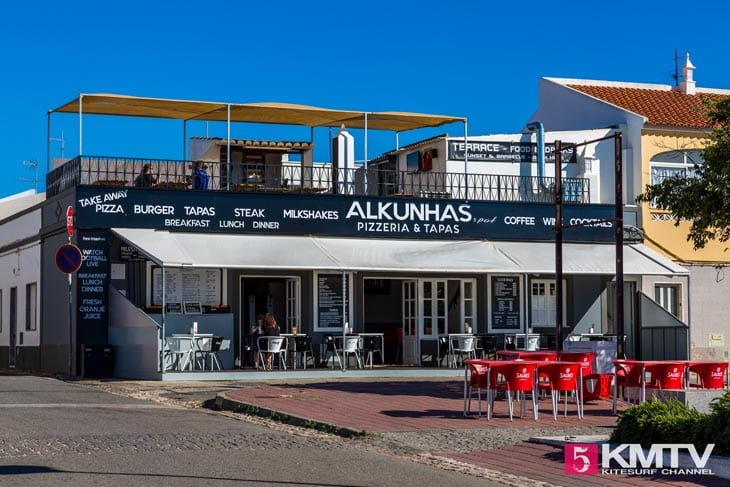 Alkunhas - Algarve Portugal Kitereisen und Kitesurfen
