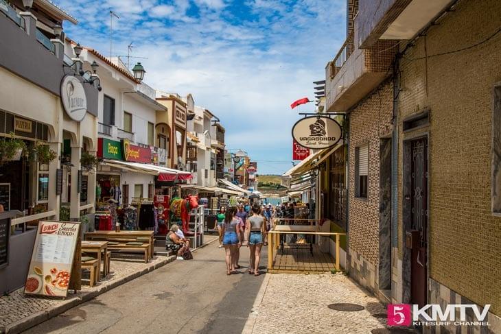 Alvor Dorf - Algarve Portugal Kitereisen und Kitesurfen