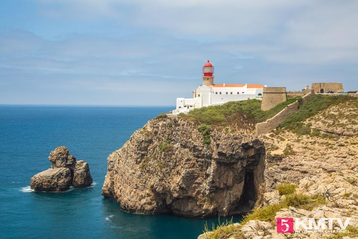 Cabo de Sao Vicente - Algarve Portugal Kitereisen und Kitesurfen