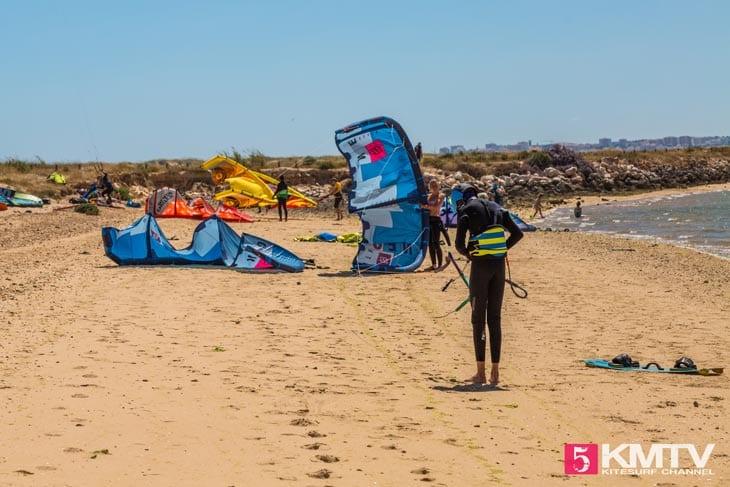 Alvor - Algarve Portugal Kitereisen und Kitesurfen